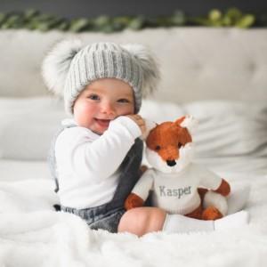 Personalised Jellycat bashful fox cub soft toy