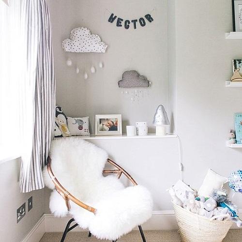 Hygge style nursery that's mine