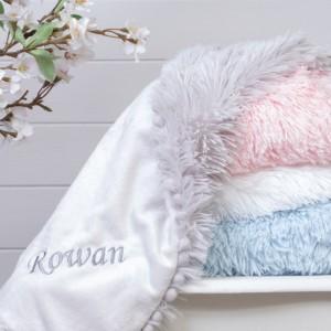 Bizzi Growin personalised koochicoo baby blanket