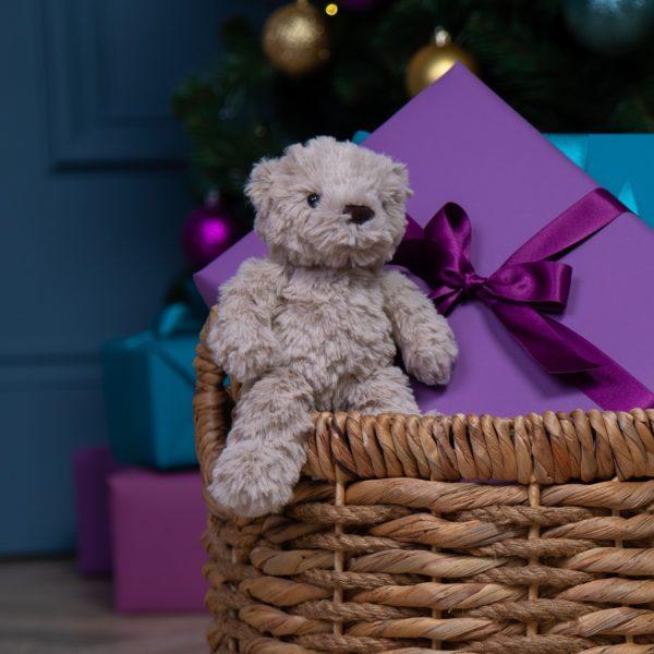 Jellycat fletcher bear small teddy soft toy
