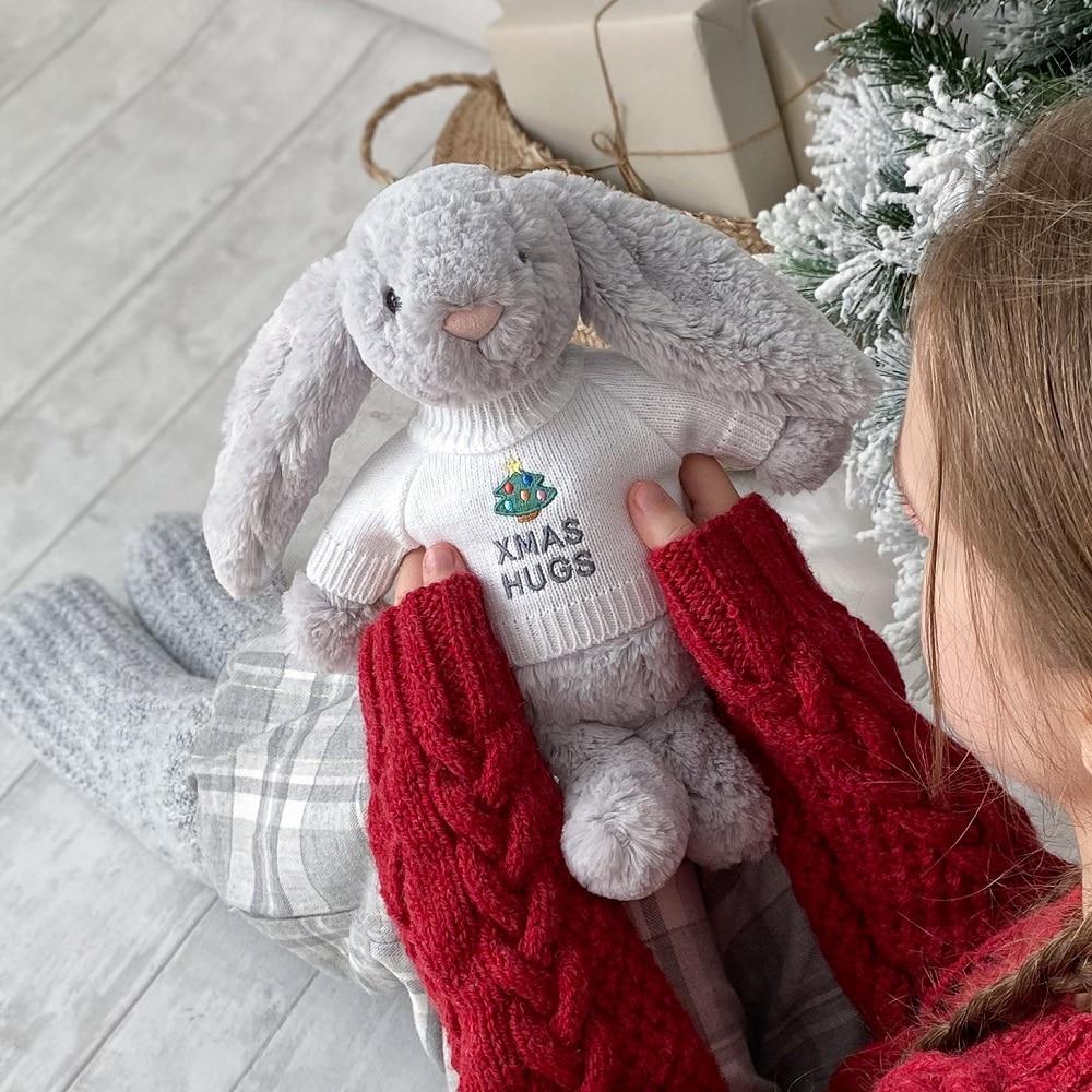 Send 'Xmas Hugs' far and wide this festive season with a That's mine bunny or teddy bear x