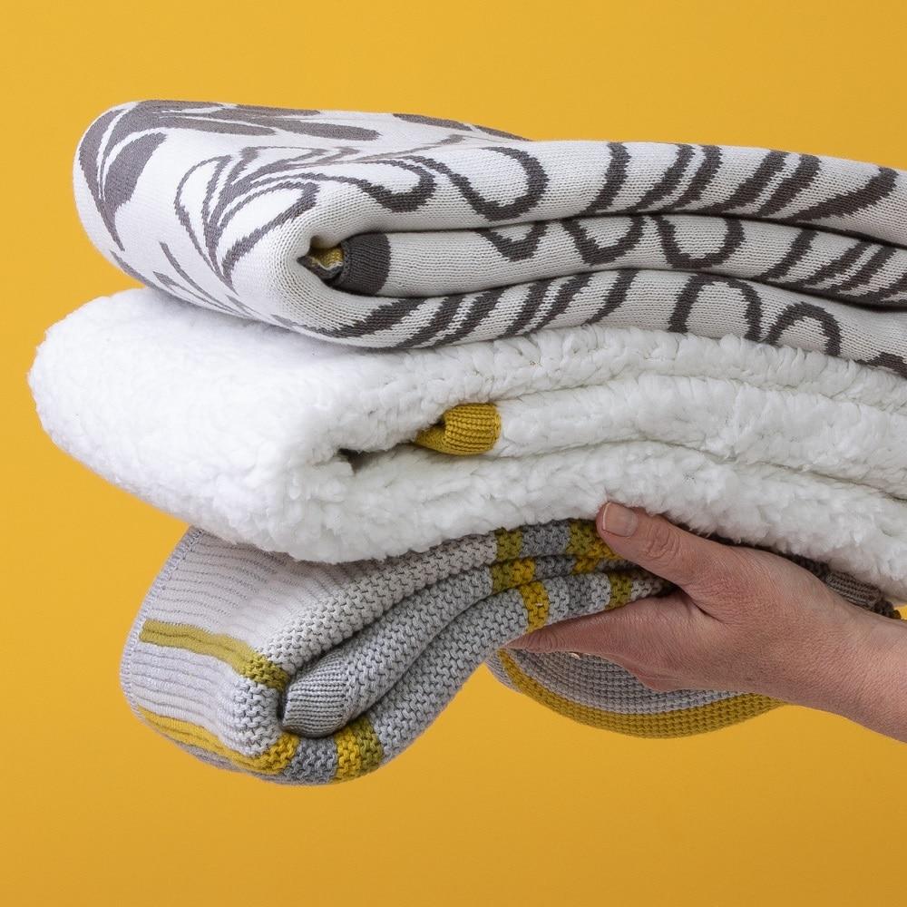 Cosatto personalised bureau sherpa fleece blanket