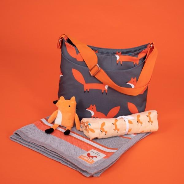 Cosatto personalised mister fox cotton muslin