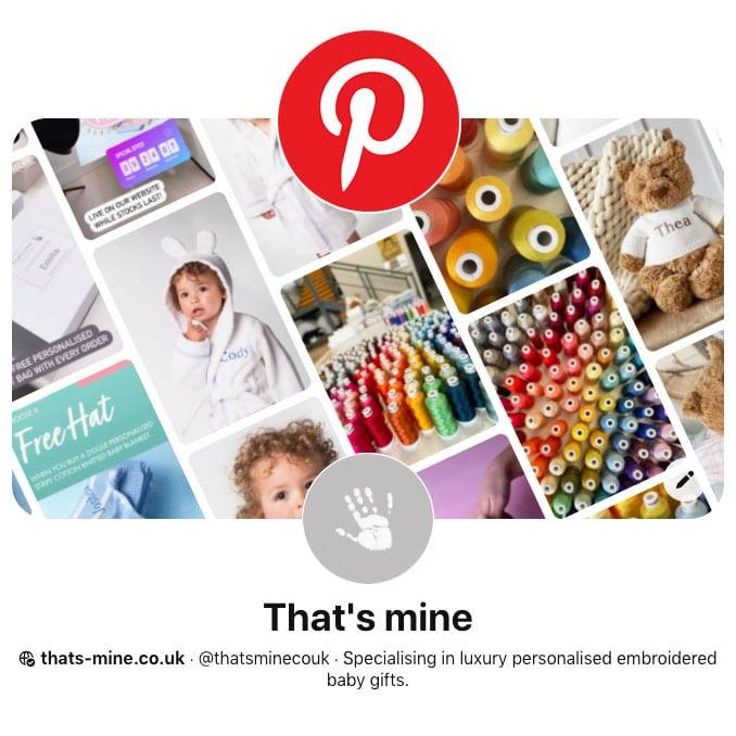 That's mine Pinterest