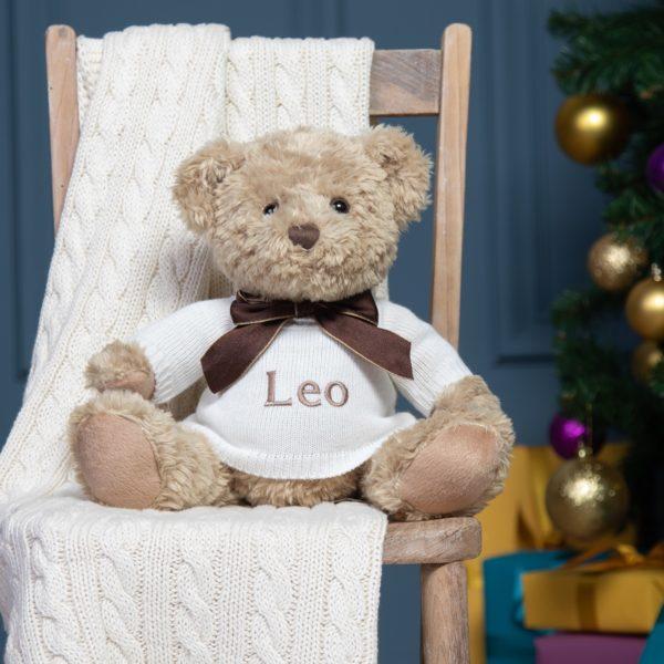Personalised Keel sherwood large teddy bear soft toy