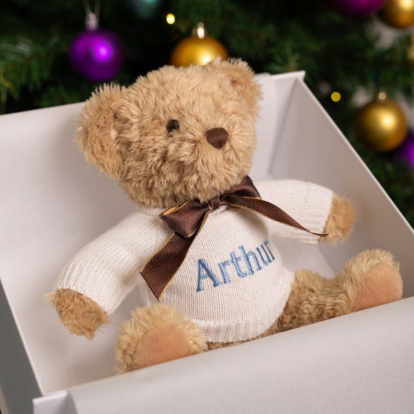 Personalised Keel sherwood medium teddy bear soft toy
